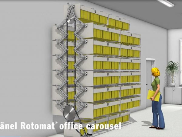 Hänel Rotomat® Office Carousels for Hanging Files
