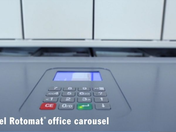 Hänel Rotomat® Office Carousels for Box Files