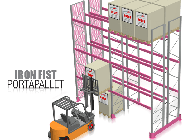 Iron Fist – Pallet rack
