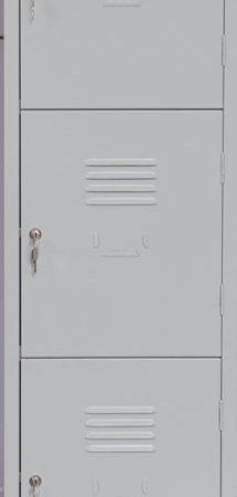 LOCKER – TRIPLE  DOOR
