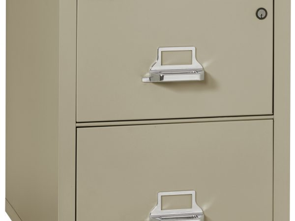 FIRE PROOF FILING CABINET – 2 DRAWER